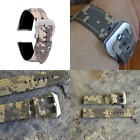 22mm 1050D Canvas Quick Release Camo Watch Band Samsung Gear S3 Frontier Classic