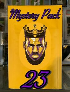 LEBRON JAMES MYSTERY PACK CHANCE AT LEBRON ROOKIE! GUARANTEED LEBRON CARD *READ*