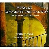 Antonio Vivaldi - Vivaldi: I concerti dell'addio - The Farewell Concertos (2015)