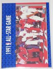 "1991/92 Michael Jordan NBA Fleer 1991 All-Star Game ""Enemies"" Card #233 NM Cond"