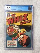 Whiz Comics #78  CGC 6.5 Fawcett Sept 1946 Golden Age FREE bonus copy to read