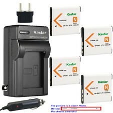 Kastar Battery Travel Charger for Sony NP-BN1 BC-CSN & Sony Cyber-shot DSC-W830
