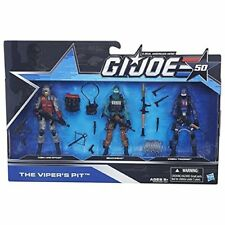 G.I. Joe 50th Anniversary THE VIPER'S PIT PACK Action Figure Set NEW SEALED