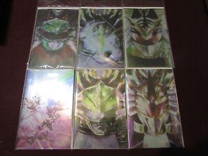 Power Rangers Comic Lot of 24 NM+ 9.4 1st Print!!!! *** Foil Virgin Variants***