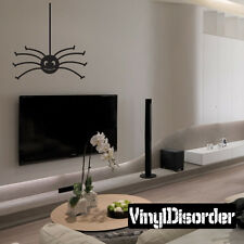 Halloween Spider Holiday Vinyl Wall Decal Mural Quotes Words -spiderh