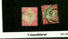 Great Britain Scott 117 Cancelled 2 Stamp Lot 5236N