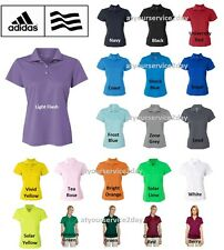 ADIDAS Women's Dri Wick Climalite GOLF Polo Sport Shirts Size S-2XL NEW A131