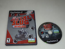 PLAYSTATION PS2 VIDEO GAME METAL SLUG ANTHOLOGY SNK