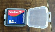 AUTHENTIC OEM SanDisk 64mb Compact Flash Card Camera Memory Card SDCFB