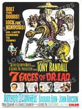 7 FACES OF DR LAO LOBBY CARD POSTER OS 1964 TONY RANDALL BARBARA EDEN GEORGE PAL