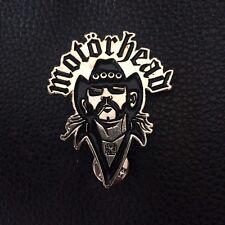 Vintage Rock Pin Badge, Motorhead Lemmy Kilmister Poker, Rox, Alchemy Etc..
