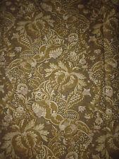 ancien tissu french textile rideau imprimé décor renaissance époque 19e