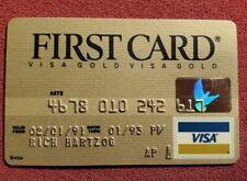 First Card Gold Visa credit card exp 1993â—‡free shipâ—‡cc1763