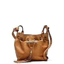 MIMCO STUDIO MINI POUCHE HONEY Brown Gold Leather BNWT RRP$299 Hip Bucket Bag