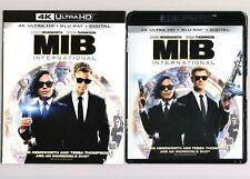 New listing New! Men In Black International 4K Uhd + Blu-Ray + Digital With Full Slipcover