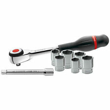 FACOM TOOLS LAST FEW! J.360PACK 3/8 Twist Rotating Handle Ratchet & Sockets