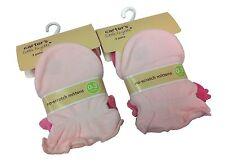 Carter's - 6 pairs Cotton Newborn Baby/infant No Scratch Mittens Gloves - Pink
