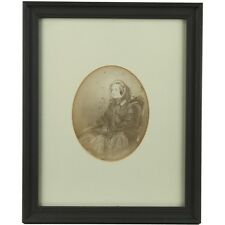 Framed Victorian Photographic Female Portrait Mary Sarah Johnstone circa 1880