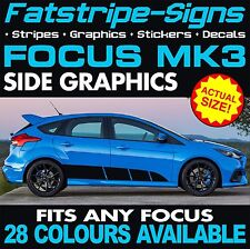 FORD FOCUS ST MK3 GRAPHICS DECALS STRIPES STICKERS RS 1.8 2.0 2.5 TURBO ALLOYS