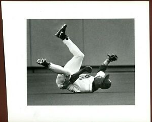 Ken Griffey Jr Mariners The Seattle Times Rolling Catch 1991 Type 1 Photo