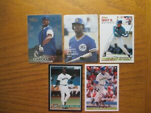 Ken Griffey Jr. Lot of 9 Cards with Fleer # 548 Rookie Card - Mint Lot