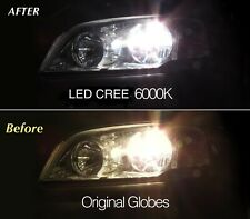 Seat Leon 1P1 Red 4-LED Xenon Bright Side Light Beam Bulbs Pair Upgrade
