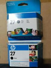 LOTE X2 HP 27 - Cartucho de tinta Negro ORIGINALES C8727AE