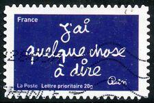 TIMBRE FRANCE AUTOADHESIF OBLITERE N° 616 / SOURIRES PAR L'HUMORISTE  BEN