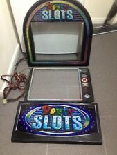 *** Party Slots *** Fruit Machine Glass Displays Button Panel Loom Rubber.