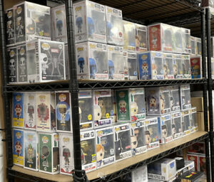 Funko Lot 6 Random Pops Exclusives and Chases Only! Protectors Incld $60+Value!!