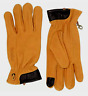 MENS TIMBERLAND NUBUCK LEATHER WHEAT COLOR TOUCH SCREEN TIP WORK GLOVES