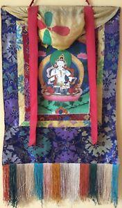 Tibetan Buddhist thangka, Vajrasattva, Tibetan Buddhism