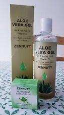 Aloe Vera Gel 250 ML mit Pfefferminz ätherische Öle zennutt