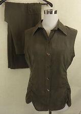 Hüftlange unifarbene Damen-Anzüge & -Kombinationen mit/Shirts