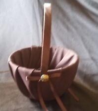 Flower Girl Basket Wedding Chocolate