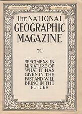 National Geographic UNIQUE MIN-SIZE PRESENTATION ISSUE-VOL.XXXV111,1920