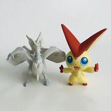 TOMY Victini & Reshiram NINTENDO Vintage Pokemon Jouet Rétro 2 Figure Bundle