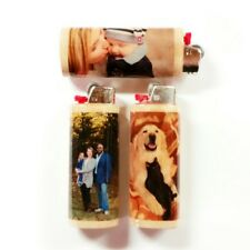 Personalized Custom Photo Image Lighter Case Holder Sleeve Cover Fits Bic