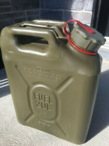 New Scepter Olive Drab Military Fuel Can (MFC) 5 Gallon / 20 L  / MIL-C-53109