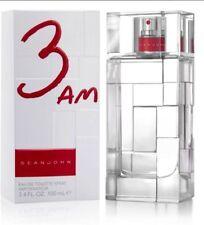 Sean John 3AM Cologne Men Eau De Toilette Spray 3.4/3.3 oz New Sealed