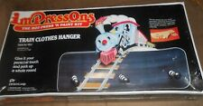 IMPressOns - The Hot Press 'n Paint Kit - Train Clothes Hanger - NEW Sealed
