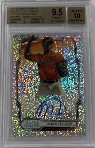 2019 Bowman Sterling Marco Luciano Speckle Refractor /99 RC BGS 9.5 Auto 10