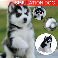 Realistic Husky Dog Simulation Toy Dog Puppy Lifelike Stuffed Toy