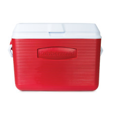 New listing 48-Quart Rubbermaid Victory Hard Cooler, 56 Cans, Bpa Free, Red