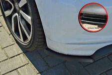 Rear approach spoiler corners Side panels made from ABS for VW Polo 6C R-Line Black Gloss