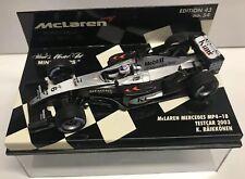 Minichamps Kimi Räikkönen 2003 #6 McLaren Mercedes MP4/18 Testcar 1:43 NIB •