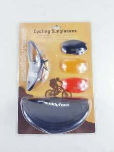 Muddyfox Sports Cycling Sunglasses With Eyewear Lenses high Quality New