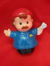"Fisher price little people "" mechanic"" Figure / Pre School toy 2001."