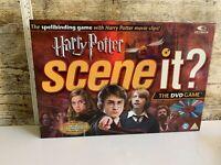 "'HARRY POTTER' "" SCENE IT ?"" DVD TRIVIA BOARD GAME..100%..."