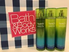 3 Bath & Body Works Taihiti Island Dream Fine Fragrance Mist,8oz ea